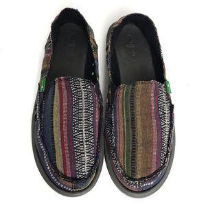 Sanuk Sidewalk Surfer Fiesta Slip-On Shoes